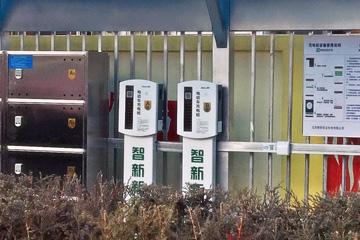 街道充电桩案例展示